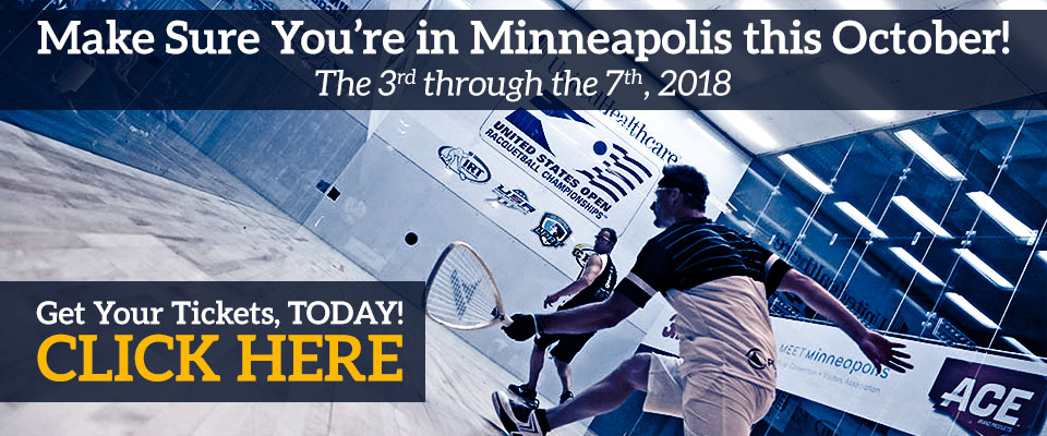 US Open 2018 Racquetball Championships